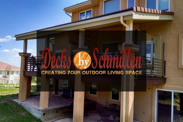 Decks by Schmillen in Colorado Springs