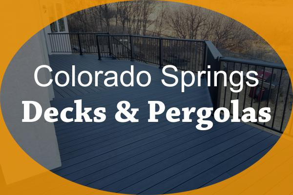 Colorado Springs Decks & Pergolas