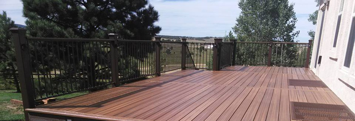 Top Quality Deck & Railing Building Materials in Colorado Springs