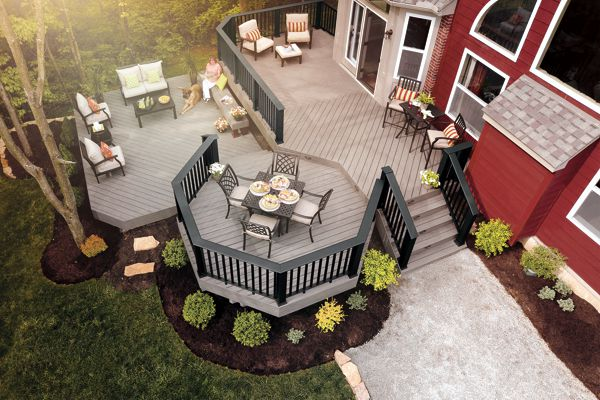 Composite Decking and Fasteners in Colorado Springs, Colorado