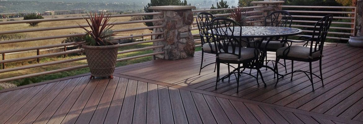Inspirational Photo Gallery for Decks, Railings and Pergolas in Colorado Springs