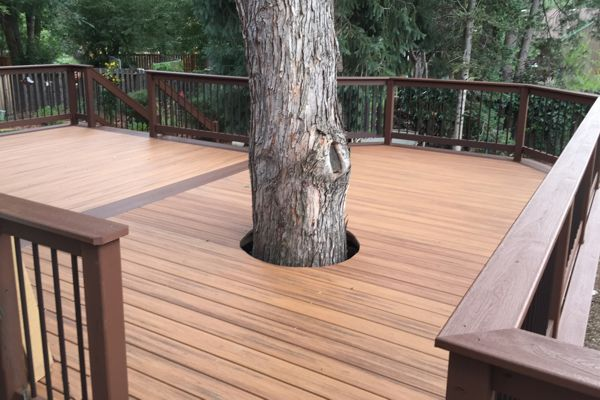 Composite Decking Materials Colorado Springs Timbers